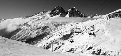 Photograph - Reach The Sky Chamonix France by Pierre Leclerc Photography