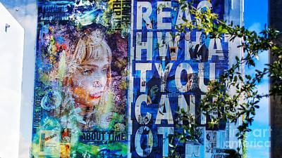 Reach What You Can Not Art Print by Dieter Lesche