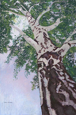 Painting - Reaching-bend by Lynn Goldstein