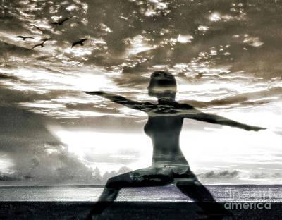 Digital Art - Reaching For Sunset by Laurel D Rund