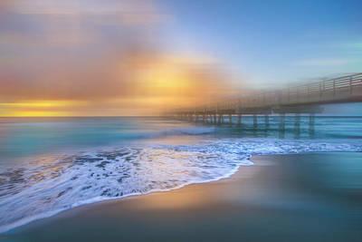 Photograph - Reaching Into Shore Dreamscape by Debra and Dave Vanderlaan