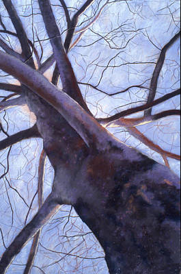 Painting - Reaching-late Winter by Lynn Goldstein