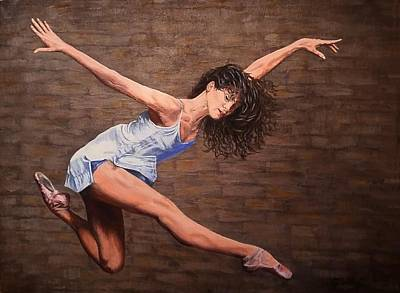 Painting - Reaching New Heights by Sheryl Gallant