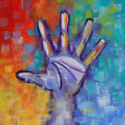 Painting - Reaching Out by Agata Lindquist
