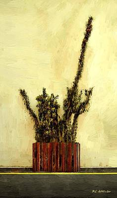 Painting - Reaching by RC DeWinter