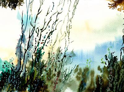 Reaching The Sky Art Print by Anil Nene