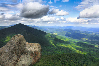 Photograph - Reaching The Summit by Everett Houser