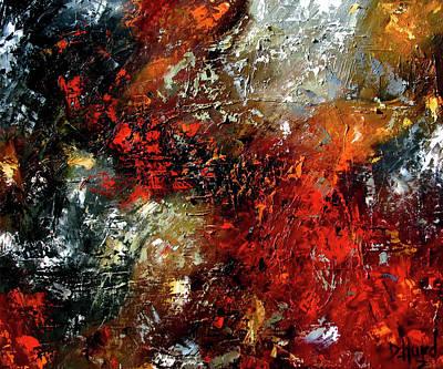 Wall Art - Painting - Reaction by Debra Hurd