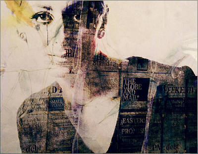 Print Photograph - Read All About It  by Paul Lovering