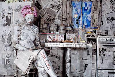 Read Me 1 Art Print by Filippo Ioco