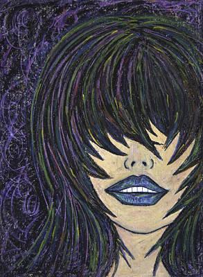 Painting - Read My Lips by Christine Regan Lake