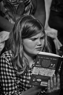Photograph - Reading Big Nate by John Haldane