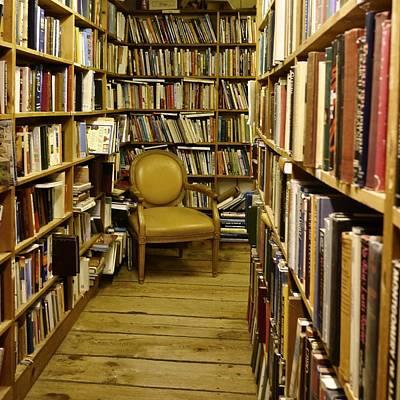Photograph - Reading Chair by Dutch Bieber