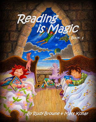 Painting - Reading Is Magic by Matt Konar