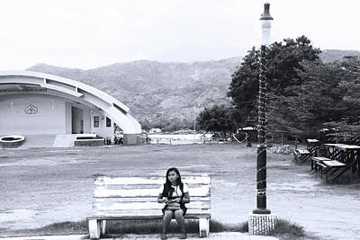 Photograph - Reading Light by Jez C Self