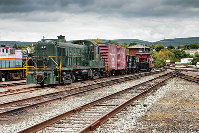 Photograph - Reading Locomotive 467  by Kristia Adams