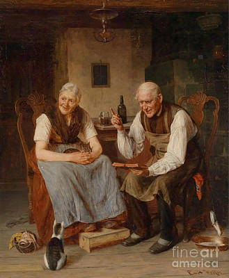 Old Painting - Reading by MotionAge Designs