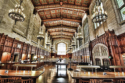 Photograph - Reading Room by Pat Cook