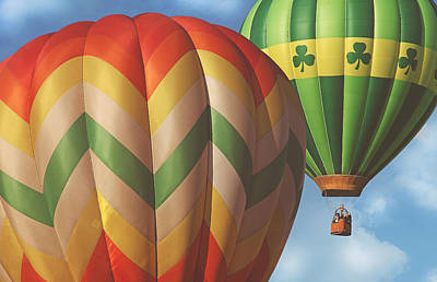 Photograph - Readington Balloon Festival #2 2015 by Pat Abbott