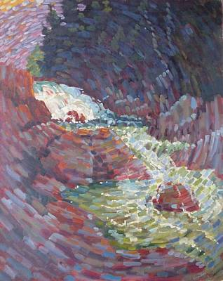Painting - Readsboro Brook by Len Stomski