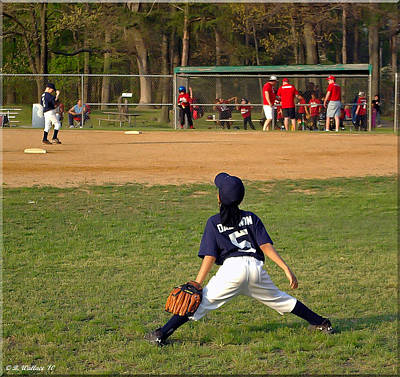 Centerfield Photograph - Ready by Brian Wallace