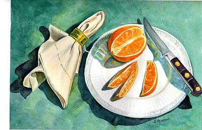Painting - Ready For A Snack by Sue Henson