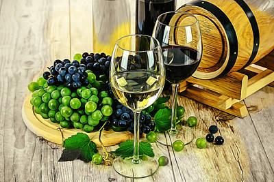 Ready For A Wine Tasting Art Print