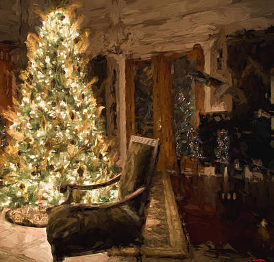 Digital Art - Ready For Christmas by Cathy Jourdan