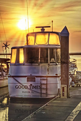 Ready For Good Times Art Print by Debra and Dave Vanderlaan