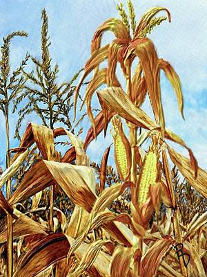 Digital Art - Ready For Harvest by Ric Darrell