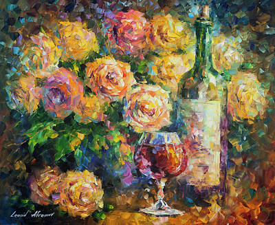 Painting -  Ready For Her  by Leonid Afremov