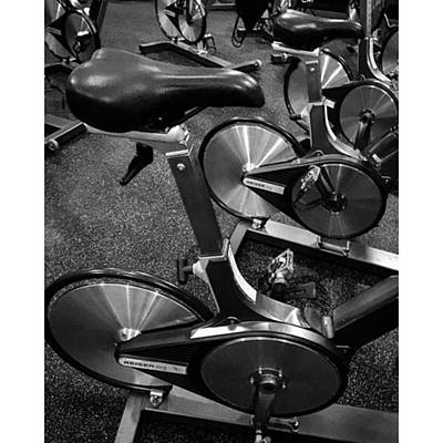 Fitness Photograph - Ready For My Spinning Class! by Juan  Silva