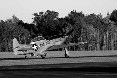 Photograph - Ready For Takeoff by David Weeks