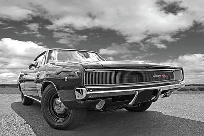 Photograph - Ready For The Challenge - Dodge Charger Rt 1968 by Gill Billington