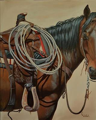 Painting - Ready For Work by Cindy Welsh