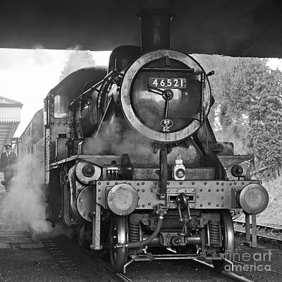 Photograph - Ready To Depart At Loughborough by David Birchall