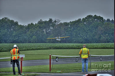 Radio Control Photograph - Ready To Fly A Touch-and-go by David Bearden