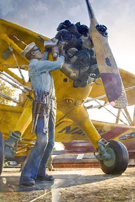Ready To Fly Print by Ricky Barnard