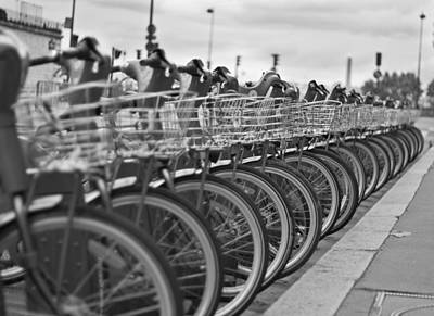 Velo Photograph - Ready To Go by Georgia Fowler