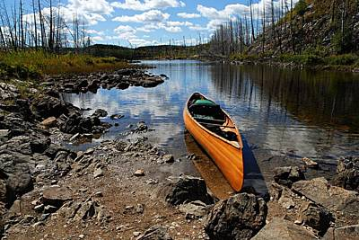 Bwcaw Photograph - Ready To Paddle by Larry Ricker