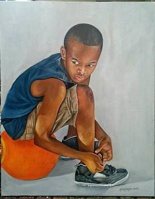 Painting - Ready To Play by Gwendolyn Frazier