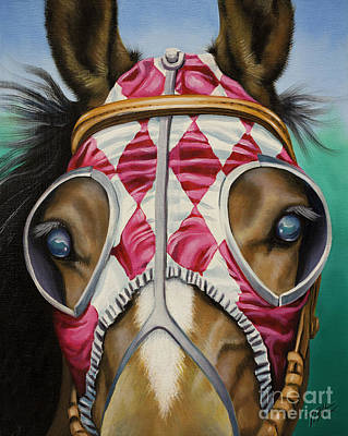 Painting - Ready To Race by Tish Wynne