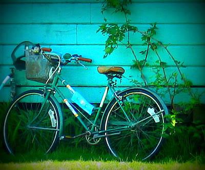 Ladies Bike Photograph - Ready To Ride by Mg Blackstock