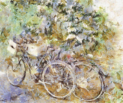 Ready To Ride Art Print by Shirley Stalter