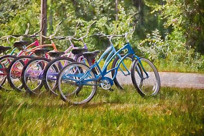 Photograph - Ready To Ride by Tricia Marchlik