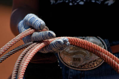 Photograph - Ready To Rope by Roger Mullenhour