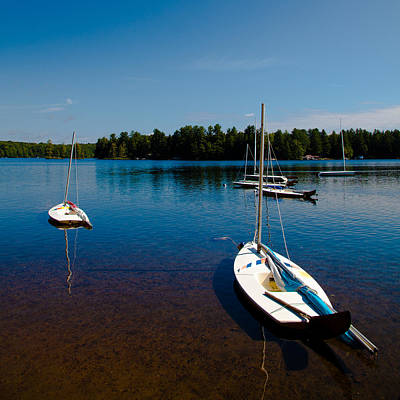 Photograph - Ready To Sail On White Lake by David Patterson