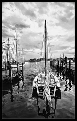 Digital Art - Ready To Set Sail by Joe Sparks