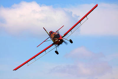 Photograph - Ready To Spray - Crop Duster - Ag Pilot - Arkansas Razorbacks by Jason Politte