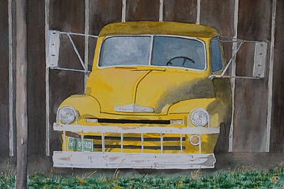 1953 Chevrolet Truck Painting - Ready To Work by Gary Thomas
